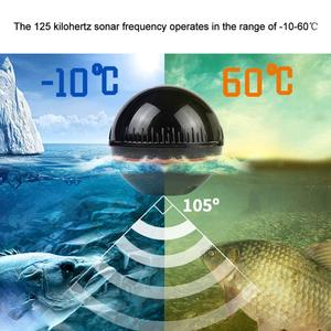 Smart wireless Portable Sonar Fish Finders Fishing lure Echo Sounder Fishing Finder Lake Sea Fishing for Dock Shore Boat