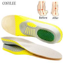 Wkładka ortopedyczna sklepienie łukowe PVC płaskostopie zdrowie podeszwa buta wkładki do butów wkładka wyściełane wkładki ortopedyczne do stóp tanie tanio COSYLEE ≤1cm CN (pochodzenie) Średnia (B M) WS80 Stałe Szybkie suszenie ANTYPOŚLIZGOWE Mocne Pochłaniające pot Pochłaniające wstrząsy