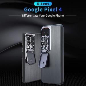 Image 2 - Ulanzi 5 in 1 Phone Lens Case Kit 20X Super Macro Lens CPL Fisheye Telephoto Lens for iPhone 11 Pro Max Pixel 4 4XL