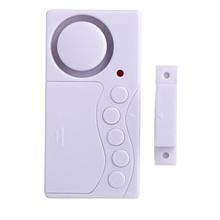 Biuro łatwa instalacja magnetyczne okienko wielofunkcyjne bezpieczeństwo z zabezpieczeniem przeciw kradzieży dzwonek do drzwi bezprzewodowy sklep wewnętrzny bezpieczeństwo w domu Super głośno tanie tanio Woopower Battery Alarm 85x45x15mm KS SF19UP Other wireless