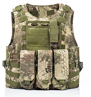 USMC Airsoft Military Tactical Vest Molle Combat Assault Plate Carrier Tactical Vest 7 Colors CS Outdoor Clothing Hunting Vest 13