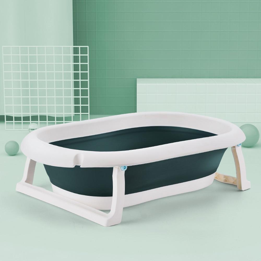 Newborn Baby Folding Bath Tub Baby Swim Tubs Body Washing Portable Children Eco-friendly Non-Slip Safe Kid Bathtub