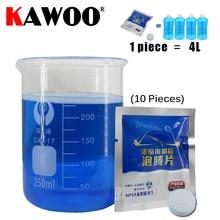 KAWOO жидкости сплошной концентрат очиститель тонкий авто окно ветрового стекла для очистки лобового стекла автомобиля Стекло очиститель стиральная машина 10 шт./упак