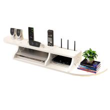 Free Punch Wall Tv Cabinet Assembly Muebles Tv Stand Unit Hollow Design Furniture Storage Fake Wooden Stand Hot Computer Stands