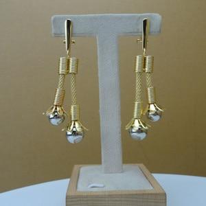 Image 4 - Yumingtai ensemble de bijoux fins, 24 carats, dubaï, joli Design pour femmes, FHK9517