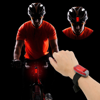 Bike Bicycle Light Cycling Front Rear Tail Helmet Red Flash Light Waterproof Safety Warning Lamp Running Caution Light цена 2017