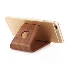 Bamboo-Stand-Holder Wood-Phone-Bracket Tablet Lightweight iPad Universal Xiaomi Samsung