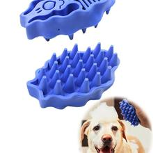 Силиконовая щетка и расческа для собак, инструмент для купания, массажная перчатка, щетка для собак, длинная щетка для шерсти, чистое устройство для удаления шерсти домашних животных