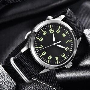 Image 2 - Corgeut Reloj de 42mm para hombre, automático, de lujo, de marca DISEÑO DEPORTIVO, de cristal de zafiro, de cuero, relojes de pulsera mecánicos