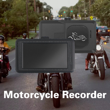 new q3 portable mini full hd 1080p car camcorder driving recorder with wide angle lens 6x wide digital zoom f2 2 recording 1080P Full HD Motorcycle Driving Recorder 32G DVR Wide Angle Double Lens Dash Cam Night Vision Waterproof Multilanguage Recorder