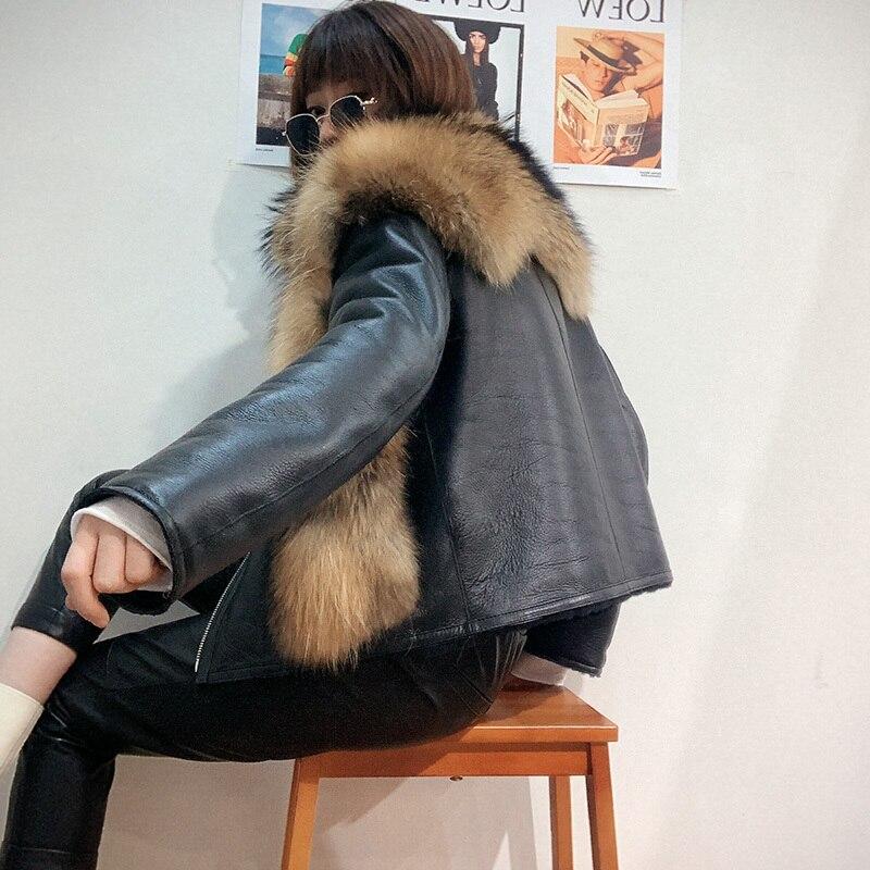 New Autumn/winter 2020 Integrated Fur For Women Sheep Shear Short Coat Fashion