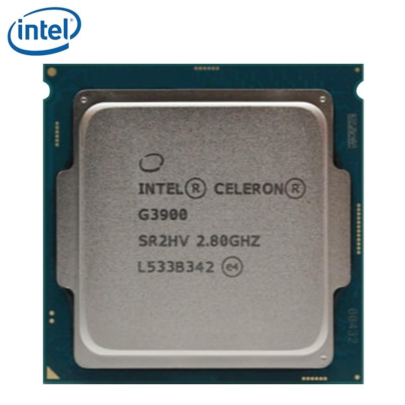 Intel Celeron G3900 CPU Processor 2.8GHz LGA 1151 SR2HV 2-Core TDP 51W 2MB Cache