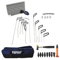 Rod Set with Whale Tails Tools Dent Puller Kit Car Dent Remover Auto Dent Puller with Hammer & Tap Down car repair tools