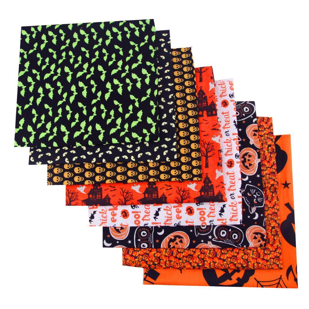 8 шт хлопковая ткань для одежды 50 х50 см