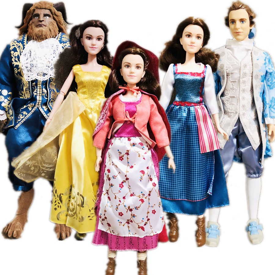 Original Doll Toy  Beauty And Beast Dolls Princess Belle Toys Prince Toys For Children Christmas Gift