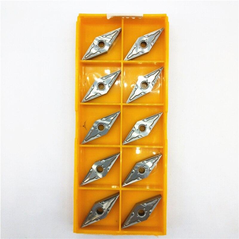 10 stks/pak VNMG160404 MA NX2525 VNMG331MA NX2525 CNC Carbide Inserts Machine Snijgereedschap-in Draaigereedschap van Gereedschap op