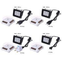 60W Kekuatan Tinggi 395nm UV LED Resin Curing Lampu Lampu Tenaga Surya Turntable 3D Printer Bagian