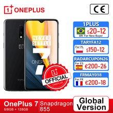 Küresel sürüm Oneplus 7 Smartphone 6GB 128GB Snapdragon 855 Octa çekirdek 6.41