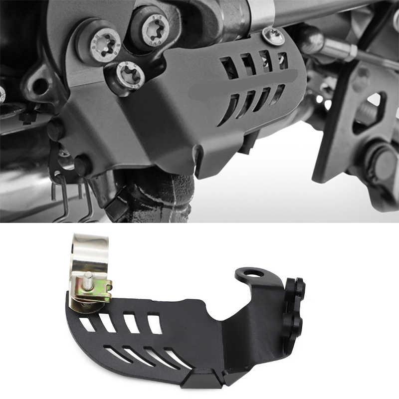 R1250GS 2019 2020 R1200GS LC 2013-2018 For BMW R1250 GS ADV 2019-2020 R1200 GS LC ADV 2013-2018 Cubierta protectora del interruptor del soporte lateral de la motocicleta