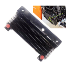 Motorcycle Oil Cooler Device Cooling Radiator Water Tank For Harley Touring Street Glide Road King Road Glide 09-16 FLHX FLHR