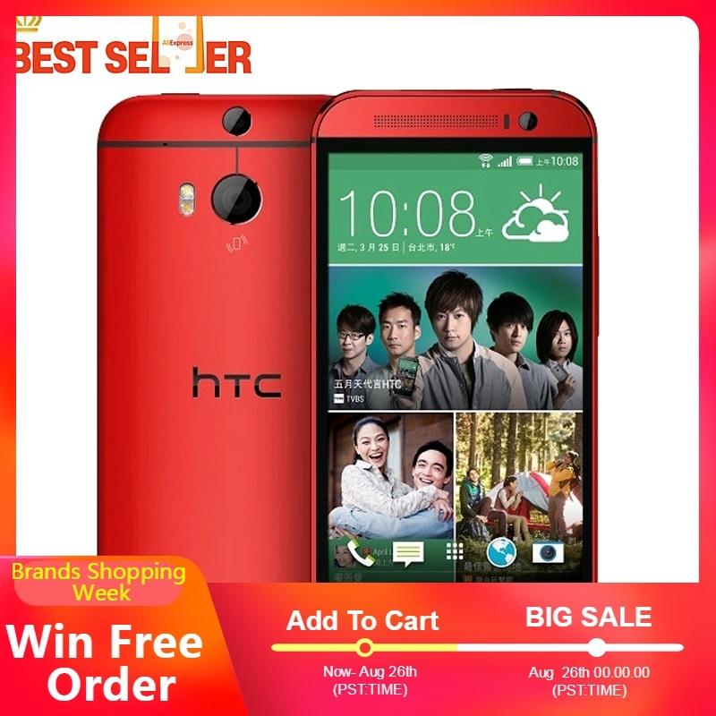 オリジナル HTC One M9 4 4G LTE 携帯電話 3 ギガバイト 32 ギガバイト 1920*1080 1080P 20MP オクタ · コア 5.0 インチ NFC オクタコアの Android HTC M9 スマートフォン  グループ上の 携帯電話 & 電気通信 からの 携帯電話 の中 1