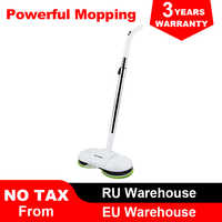 (FBA)LIECTROUX F528A Wireless Electric Mop with Waxing ,Wet Dry Cleaning ,Water Spay,Mopping Robot Non-Vacuum Cleaner, LED Light