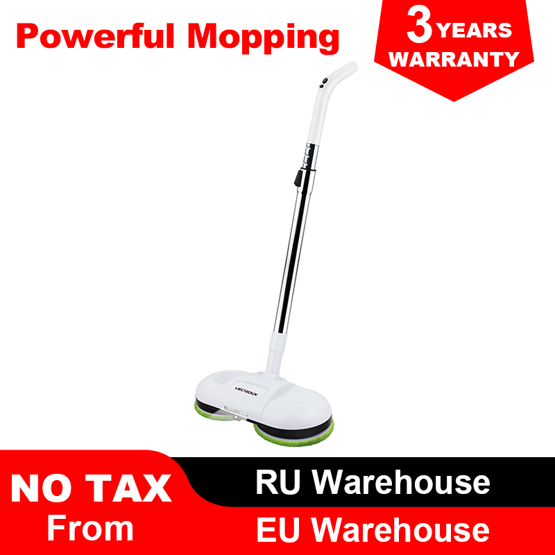(FBA)LIECTROUX F528A Wireless Electric Mop with Waxing ,Wet Dry Cleaning ,Water Spay,Mopping Robot Non Vacuum Cleaner, LED Light-in Vacuum Cleaners from Home Appliances    1