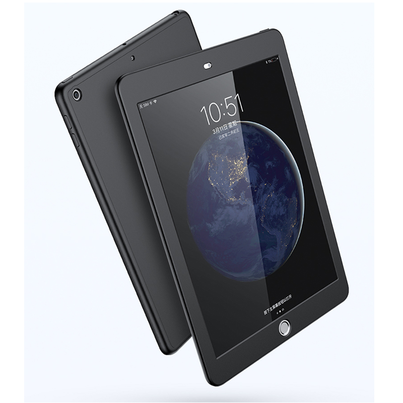 360 Degree Full Cover For <font><b>Ipad</b></font> <font><b>Mini</b></font> 2 A1489 A1490 A1491 Tempered Glass Silicone Case For <font><b>iPad</b></font> <font><b>Mini</b></font> 1 3 <font><b>A1432</b></font> Screen Protector image