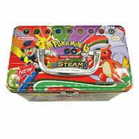 153 unids/set caja de transporte Pokemon TAKARA TOMY juguetes de batalla Hobby coleccionables colección de juegos tarjetas de Anime para niños