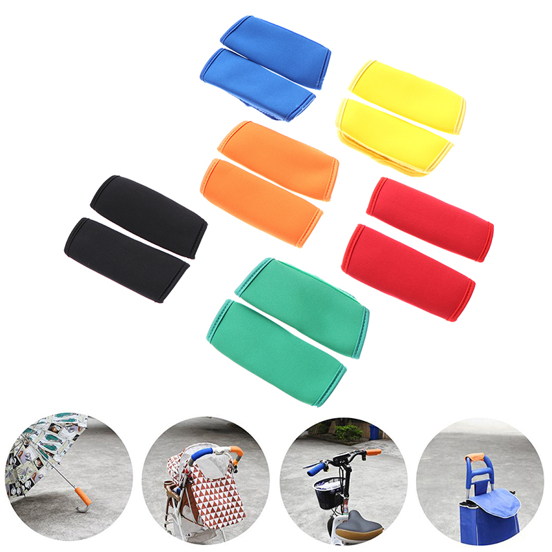 2pcs Baby Stroller Handle Cover For Pram Cart Multifunctional Protector