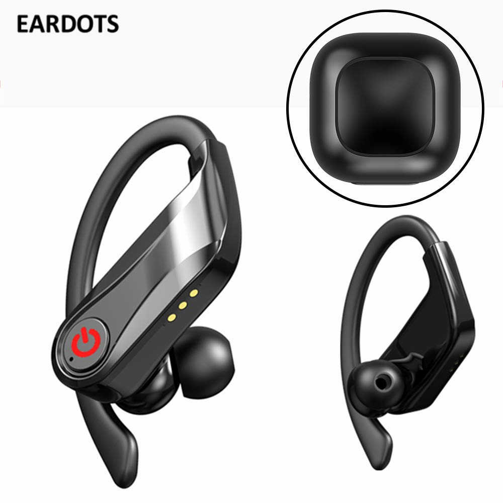 Eardots Tws Wireless Earphone Bluetooth 5 0 Stereo Sport Headphones Waterproof Ear Hook Headsets Mic Pk Qs1 Q32 Q67 Gt1 Aliexpress