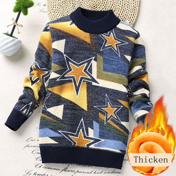 Boy Sweater Turtleneck Winter Clothes Child Toddler Boys Knitted Sweaters Casual Long Sleeve Cartoon Cotton Children Clothes Kid kids children sweaters winter 2020 casual turtleneck knitted sweaters for girls warm boy sweaters cotton girls cardigan clothes