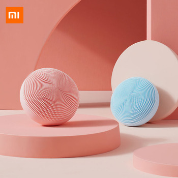 Xiaomi Mijia Facial Cleaning Brush Mijia Deep Cleansing Face Soft Bristles Waterproof Silicone Mi Electric Beauty Sonic Cleanser