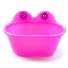 Легкая Чистка маленькая ванна для птицы прочный твердый безопасный нетоксичный бассейн для попугаев душевая коробка клетка аксессуары для домашних животных портативный