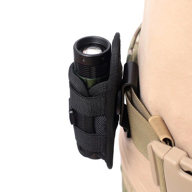 тактический фонарик чехол molle светодиодный кобура для фонарика фотография