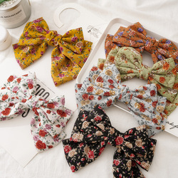hair bows ponytail holder print pinche para el cabello women accessories woman spinki do wlosow dla dziewczynki princess mujer