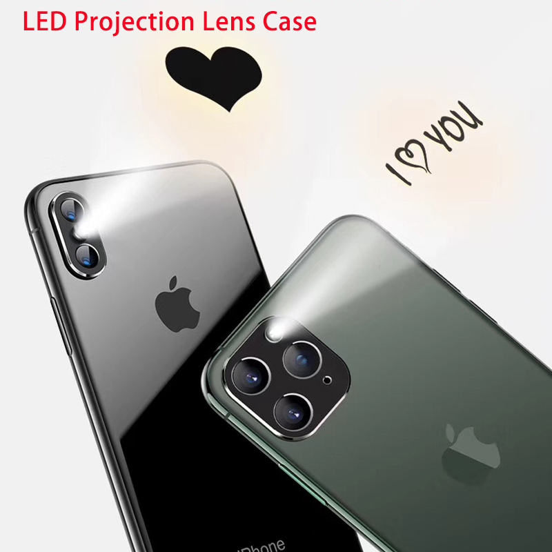 Metal Protector Film For IPhone 11 Pro X XS Max Cover Rear Camera LED Projection Screen Protector Lens Film For IPhone 7 8 Plus