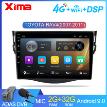 XIMA Neue!! 9 ''2dinCar Android 9,0 Auto DVD Player forToyota RAV4 Rav 4 2007 2008 2009 2010 2011 Auto Radio GPS Navigation-Player