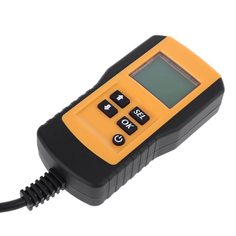 Digital 12v Car Battery Analyzer Automotive Volt Cca Resistance Diagnostic Tool 875f