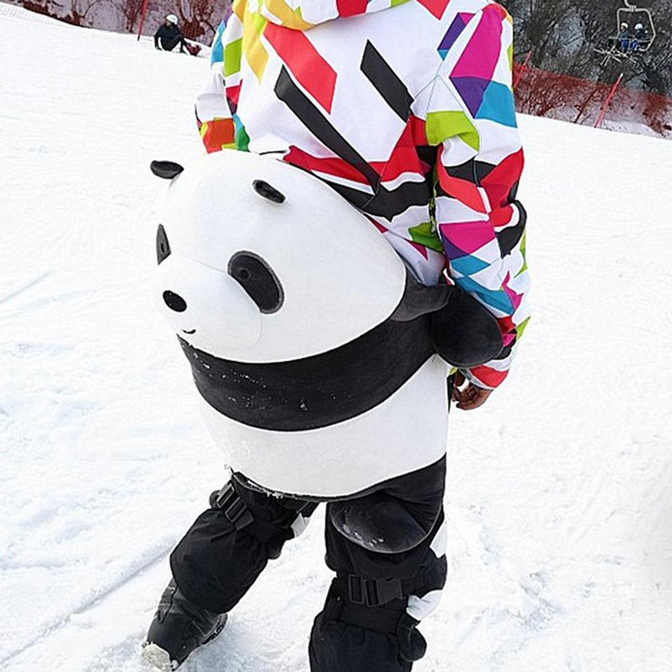 Adult Kids Skating Snowboarding Hip Protective Cute Panda Snowboard Protection Ski Gear Children Knee Pad Hip Pad Aliexpress
