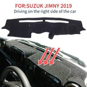 Image 2 - Smabee tapis de tableau de bord antidérapant noir pour Suzuki Jimny 2019 2020