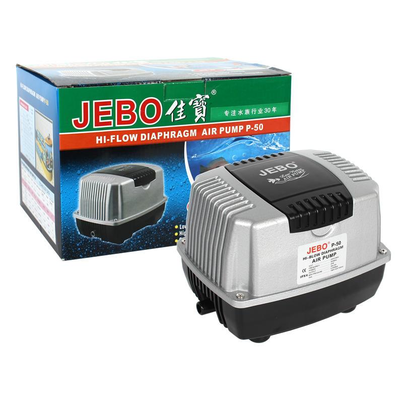 Jebo P 30 50 70 100 130 Koi кислородный насос для ловли карпа, морепродуктов, ультра-тихий энергосберегающий воздушный насос для преобразования частот...