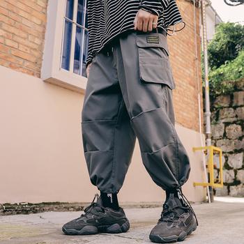 Overszied spodnie dresowe 2020 pogoda drukowane męskie spodnie dorywczo Harem Harajuku pogoda drukowane kobiece spodnie ściągane sznurkiem tanie i dobre opinie wetailor Spodnie typu Harem CN (pochodzenie) Pełna długość Mieszkanie REGULAR COTTON Z OCTANU średniej wielkości Sukno