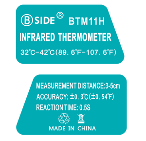 Image 5 - BSIDE Baby Forehead Thermometer Non Contact Infrared Digital IR Laser Temperature Gun for Infant Kids Toddler Children Adult Pet