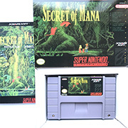 Secret of Mana 16bit  game cartidge US Version