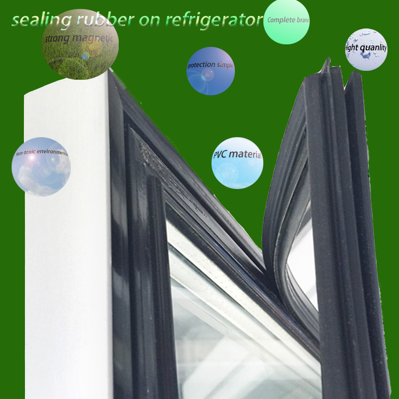 Non Toxic, Environmental Friendly And Magnetic Refrigerator Sealing Strip