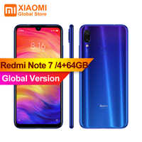 Version globale originale XIAOMI Redmi Note 7 4GB RAM 64GB ROM S660 Smartphone 48MP + 13MP caméra double AI plein écran 4000mAh