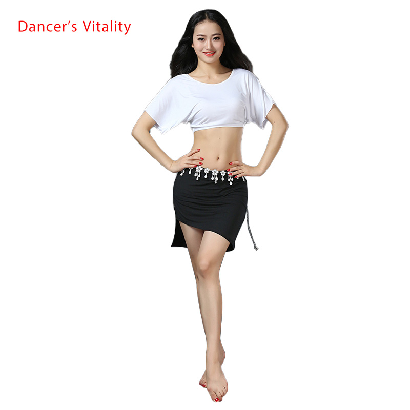 New Arrival Belly Dance Clothes Short Sleeves Top+skirt 2pcs Belly Dance Suit For Women Belly Dance Set Girls Dance Clothing