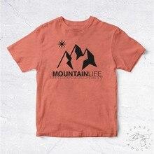 Nouveau Tee Shirt Montagne vie BIO Montagne Ski neige Snowboard Escalade Escalade Sport