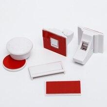 Блокиратор для выдвижных шкафов на магните, набор 2 шт., цвет белый 4623696